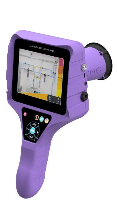 LKS 1000 Leakshooter相机 - 带摄像头的超声波压缩空气,气体和真空检漏仪