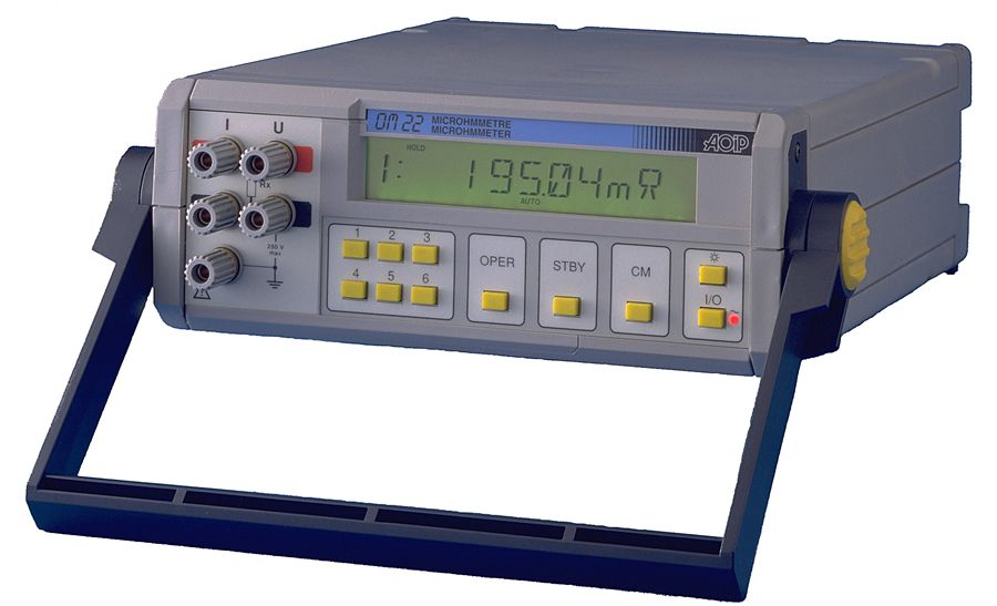 OM 22 工业台式微欧姆表 - 高精度:0.03%