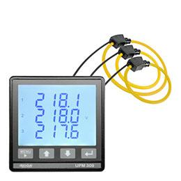 UPM309RGW 多功能三相电表,带3个MFC150 Rogowski线圈
